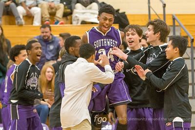 12-4-15 Minneapolis Edison v Minneapolis Southwest Boys Basketball