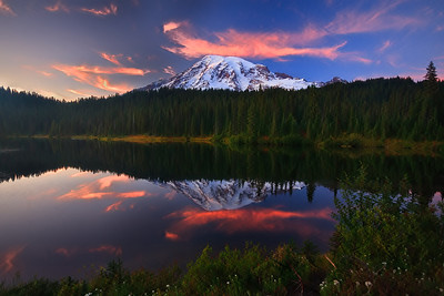 Reflecting  Rainier