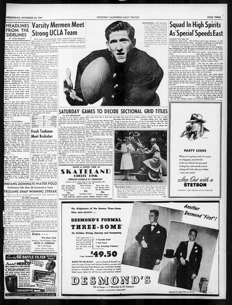 Daily Trojan, Vol. 31, No. 48, November 22, 1939