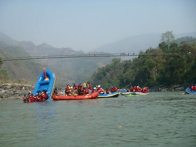 Rafting Holi 2013