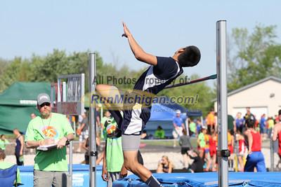 D4 Boys' High Jump - 2014 MHSAA LP T&F Finals