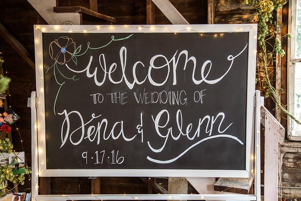 Glenn and Dena's Wedding 9.17.2016