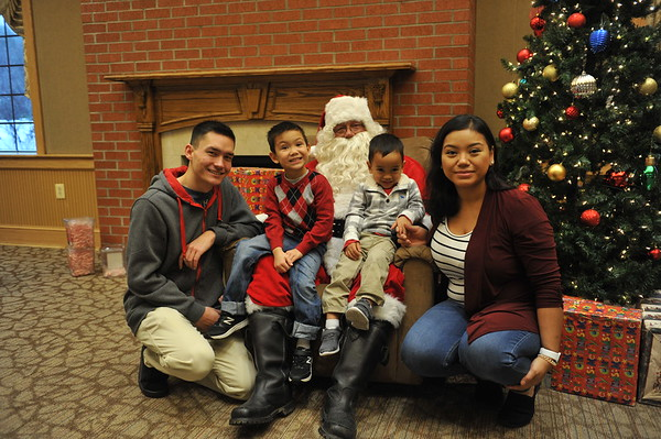 2019 Breakfast with Santa at Bay District