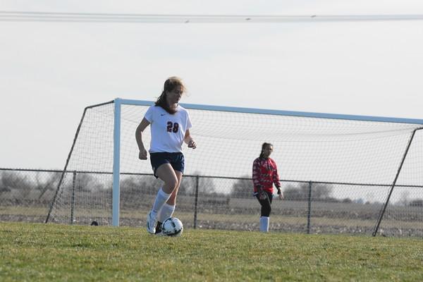 JV Girls Soccer vs Gretna