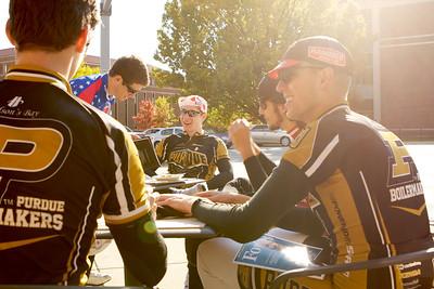 Purdue Cycling at Cafe Royal