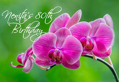 20191207 Nenita's 80th Birthday