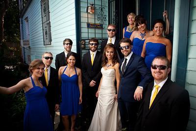 Formal Portraits and Wedding Party Walk