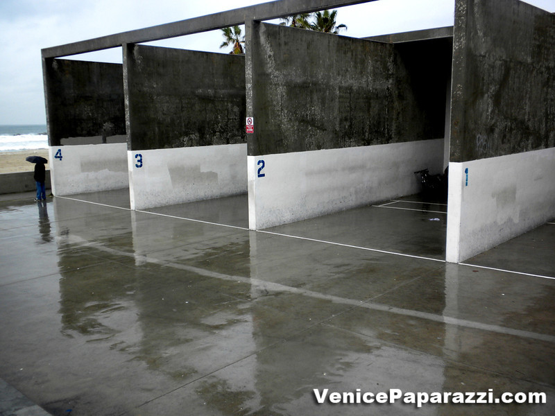Venice on a rainy day.  Photo by Venice Paparazzi.  www.venicepaparazzi.com