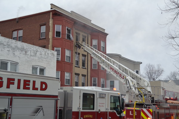 2nd Alarm + Special Call 306 Belmont Ave., Springfield, MA 4/2/19