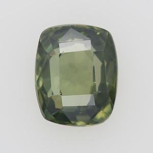 2.14 Olive green antique cushion sapphire (pcs-265)