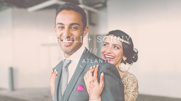 SHAILI + SONNY ////// ONE ATLANTIC