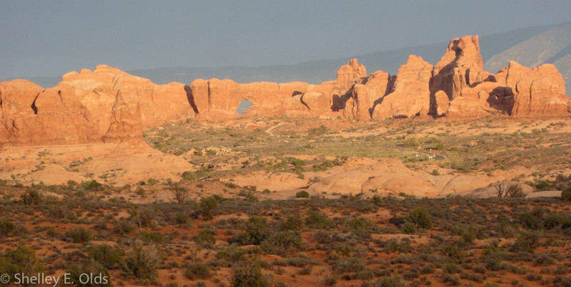 Arches at Sunset