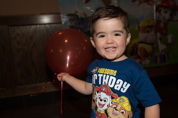 Grady's 3rd Birthday Party