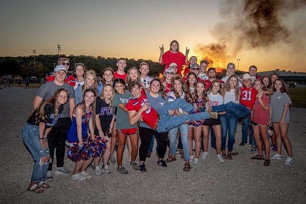 2019-05 FB Homecoming Parade and Bonfire