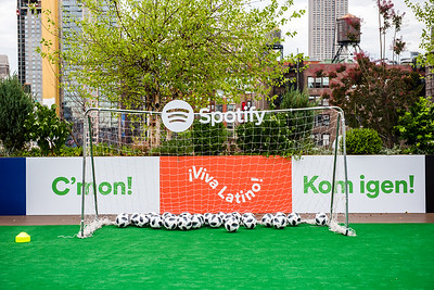 Brandi Chastain at Spotify - NYC Brand Photographer