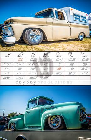 2018 Royboy Trucks Calendar