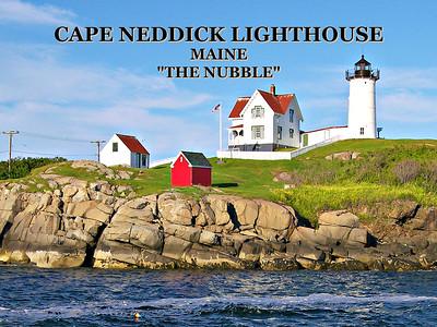 Cape Neddick (the Nubble) Light, Maine