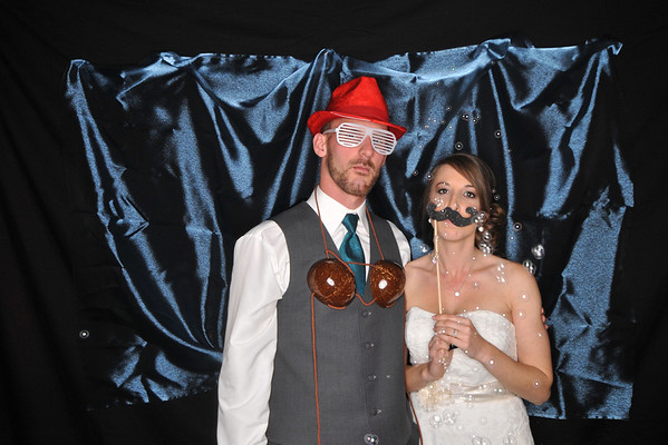 Lott wedding photo booth