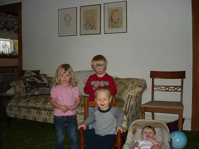 Brenda's kids -- October 2008