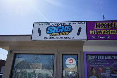 Grand Opening of Ramy Sign Shop - April 21,2018