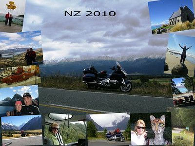 NZ South Island Ride - 2010