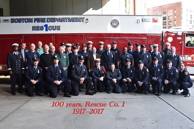 BFD Rescue Co. 1's 100th Anniversary  October 28, 2017