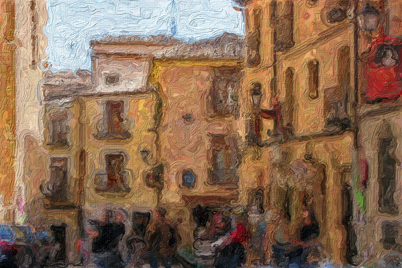 Street Scene, Toledo, Spain