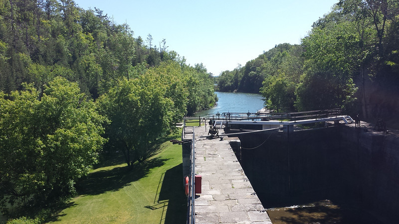 The Rideau Canal, Ontario Canada