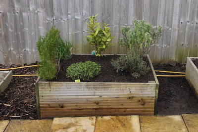 Moving the Herb Bed - 23 April 2016
