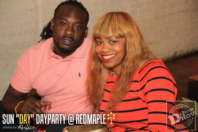 """SUN """"DAY"""" DAY PARTY APRIL 27th @ REDMAPLE"""