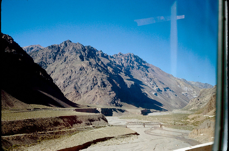 crossing the Andes into Chile