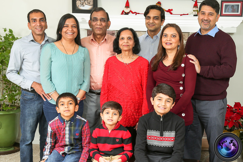 Harish Patel Family