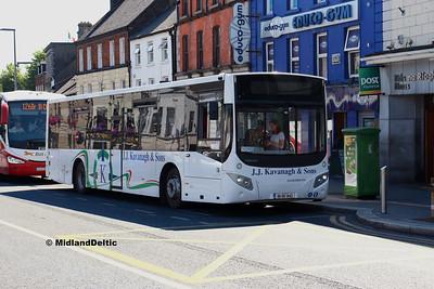 Portlaoise / Newbridge / Naas (Bus), 26-06-2018