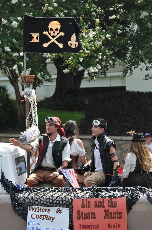 . (John Valenzuela/ Staff Photographer)  The 2013 Redlands Fourth of July Parade and Picnic at Sylvan Park in Redlands, July 4, 2013.
