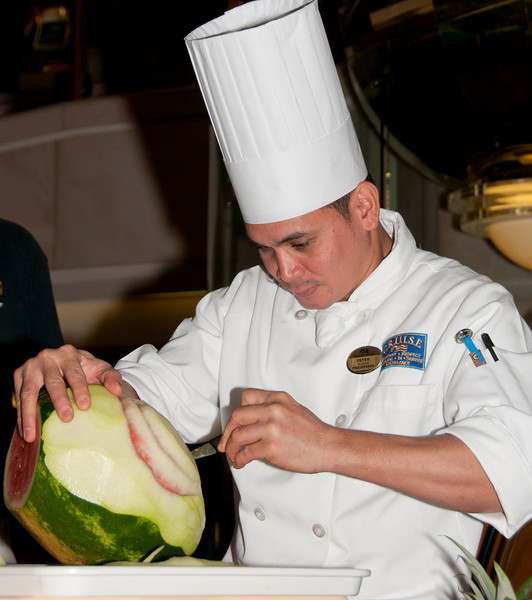 Vegetable and Fruit Carving Demonstration