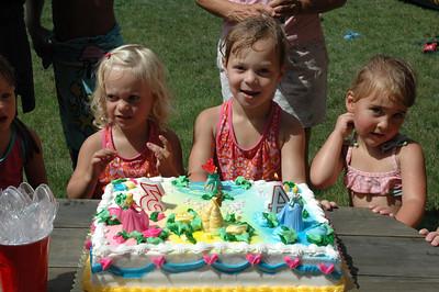 Lilly & Sophie's Birthday 2007