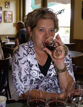 Cali wine tasting
