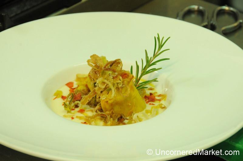 Savory Ciaffagnone, Stuffed with Ground Beef - Manciano, Italy