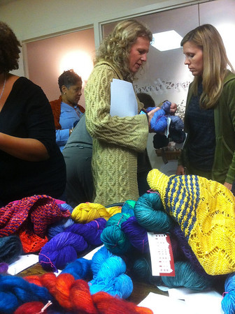 Karida Collins Neighborhood Fiber Company at Zen Tara Tea