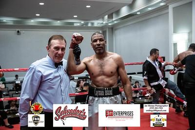 Charles Whittaker (w) vs Raynard Hill