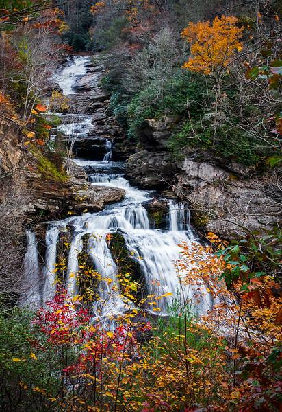 Autumn at Callasaja Falls