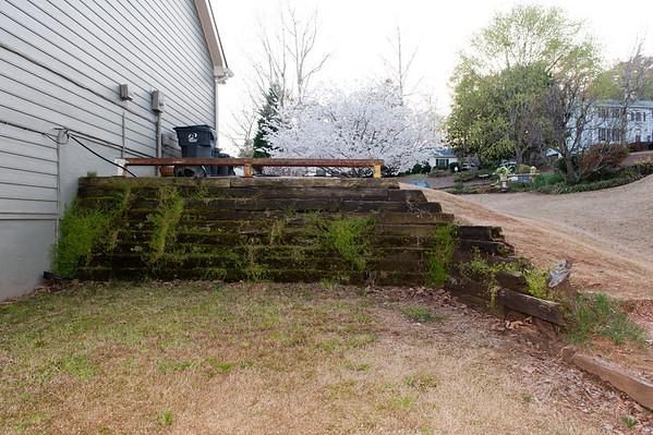 2013.04.13-14 New Retaining Wall