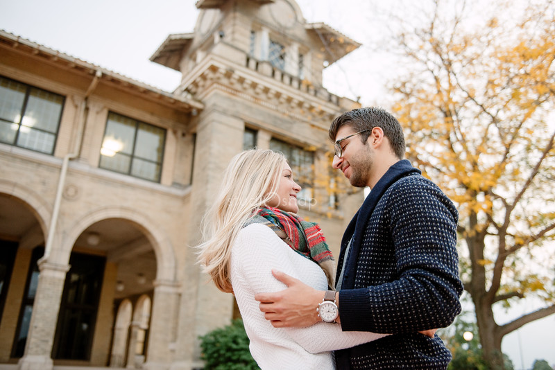 Lauren  & Joe | Engagement | Downtown Detroit, Belle Isle