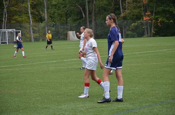 Girls US JV Soccer-Fall 2013