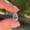 3.33ct Pear Shaped Rose Cut Diamond 26