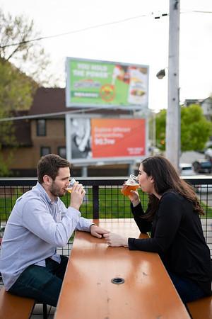 Mary + Eric | Shorewood Engagement Session