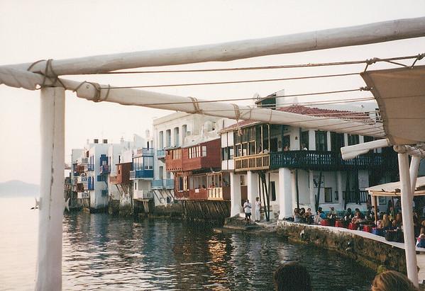 Athens, Mykonos, Istanbul, Capadoccia & Budapest, July 2001
