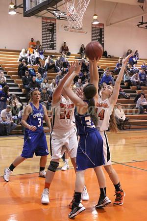 Girls Basketball, Danville vs Fairfield 1/11/2014