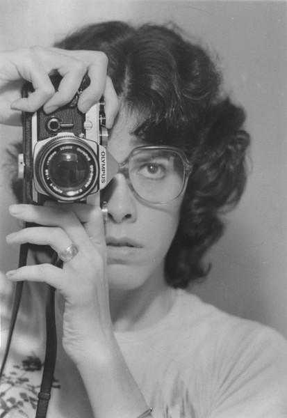 Self portrait circa 1974.