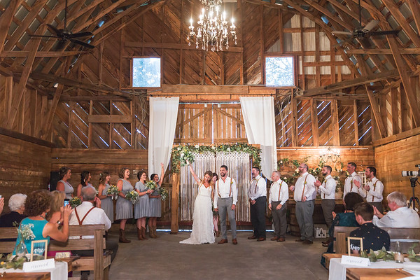 Christen & David's Wedding :: The 1932 Barn :: AO&JO Photography & Videography